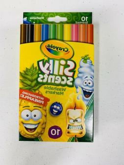 Crayola Silly Scents Scented Washable Markers - Fine Point M