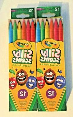 Crayola 58-5071 10 Ct Silly Scents Washable Scented Markers,