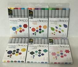 Copic Sketch 6-Piece Marker Set Dual-Tipped, Refillable *Var