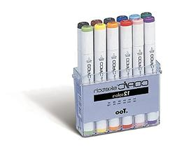 Copic Sketch Markers Set Of 12-Basic Colors