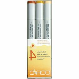 Copic Marker Sketch Color Fusion Markers, CSCF 4, 3-Pack