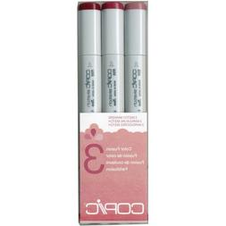 Copic Marker Sketch Color Fusion Markers, CSCF 3, 3-Pack