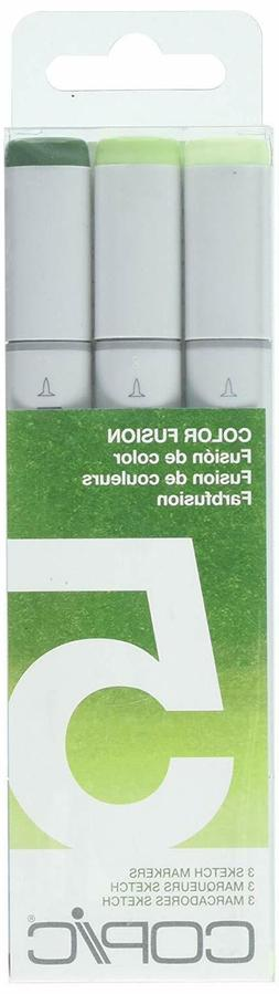 Copic Marker Sketch Color Fusion Markers, CSCF 5, 3-Pack