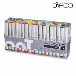 Copic Sketch Marker 72 Color Set Premium Artist Markers A, B