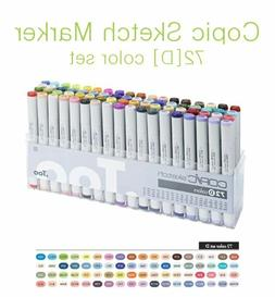 Copic Sketch Marker 72 Color Set D  Artist Markers -Express