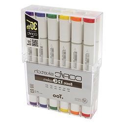 Copic Sketch Marker 12 Piece Sketch Basic C Set