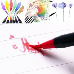Soft Tip Painting Brush Refillable Watercolor Markers Callig