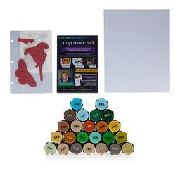 Crafter's Companion Spectrum Noir Alcohol Markers 24/Pkg-Nat