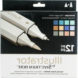 Crafter's Companion Spectrum Noir Illustrator Twin Tip Marke