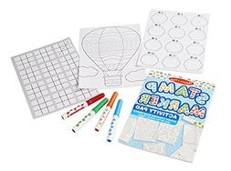 Melissa & Doug Stamp Markers and Activity Pad - Stars, Fish,