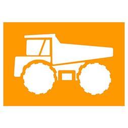 Auto Vynamics - STENCIL-CONST-DUMPTRUCK - Detailed Dump Truc