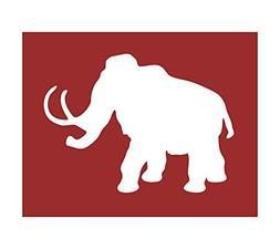 Auto Vynamics - STENCIL-DINO-03 - Woolly Mammoth Individual