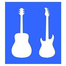 Auto Vynamics - STENCIL-MUSIC-GUITARS - Pair Of Acoustic & E