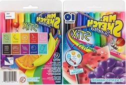 Mr. Sketch Stix Scented Markers, 28 Pack, Includes Original,