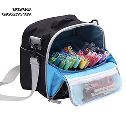 Large Storage Tote Bag for Marker Pens Brush Pen Coloring Pe