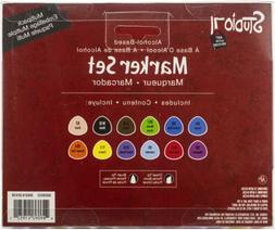 Studio 71 Alcohol Ink Dual Tip Marker Set 12/Pkg-