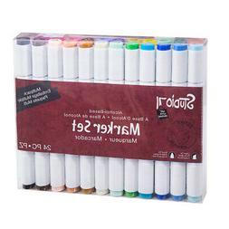 Studio 71 Alcohol Ink Marker Set Dual Tip