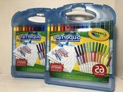 Crayola 04-5226 Super Tips Marker & Paper Set