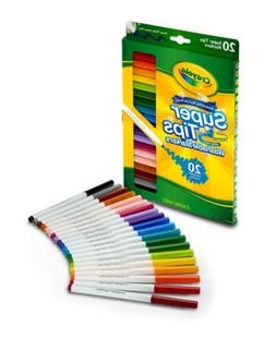 Crayola Super Tips Markers, Washable Markers, Assorted Color