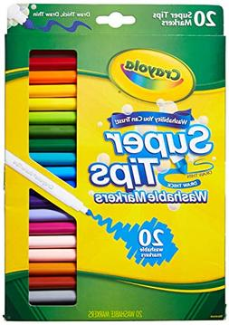 Crayola 58-8106 20CT Super Tips Washable Marker