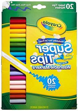 Crayola 58-8106 20CT Super Tips Washable Marker