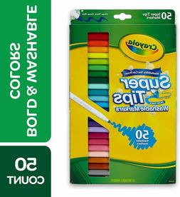 Crayola Super Tips Washable Markers - 50 Count