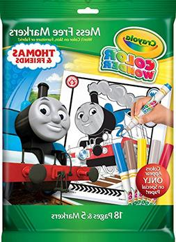 Crayola Color Wonder, Thomas and Friends Mess Free Coloring