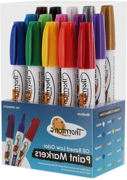 Thornton's Art Supply Vibrant Premium -Based Paint Pen Craft
