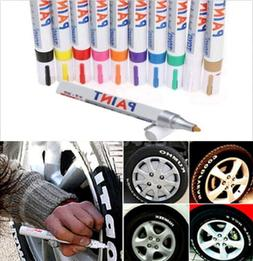 Tire Permanent Paint Marker Pen Car Tyre Rubber Universal Wa