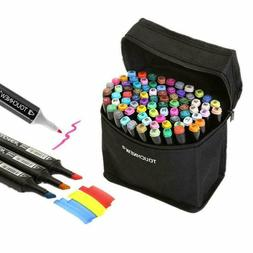 Togood 40 Different Colors Art Sketch Twin Marker Pens,Dual