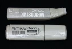 .Too Copic WIDE Original Marker Pen & Chromatic E Series  Va