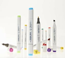 Copic Classic Markers - Earth Shades - Refillable With Copic