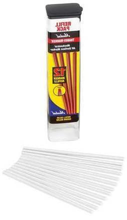Trades-Marker Refill Pack, White, PK12