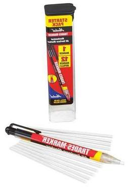 Trades-Marker All-Surface Marker, White