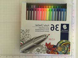 Staedtler Tri-Plus Fineliner Markers, 0.3 mm, Assorted Color