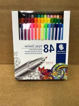 Staedtler Triplus Fineliner 0.3mm 48 Colors Porous Point Pen