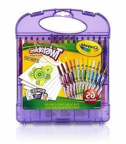 Crayola Twistables Colored Pencils & Paper Set, 65 Pieces No