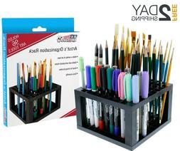 Pencil Holder Organizer Pen Storage Paint Brush Rack Marker