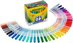 Crayola Ultra-Clean Washable Broad Line Markers, 40 Classic