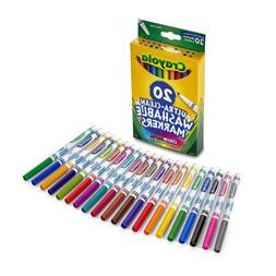 ultra clean washable markers 20 count box
