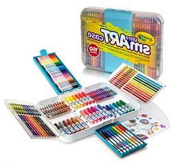 Crayola Ultra smART Case 150 Pieces Crayons Markers & Colore
