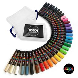 Uni POSCA New 2018 Paint Marker Pen Sets - Made in Japan - F