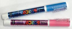 Uni Posca PC-3ML Glitter Paint Markers- Pink & Light Blue- g