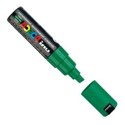 Posca PX148841000 Acrylic Paint Marker, Broad Chisel, Green