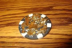 USA EAGLE Insignia emblem-USA GREAT SEAL Poker Chip,Golf Bal