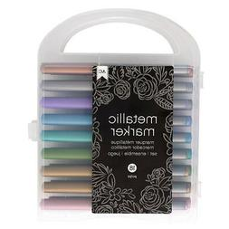 American Crafts 18/Pack Extreme Value Metallic Markers