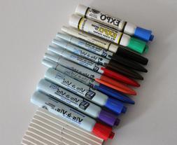 Vintage Sanford Vis-a-Vis Expo Wet/Dry Erase Markers Fine &