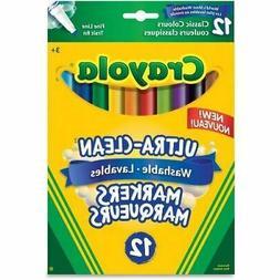 Crayola Washable Fine Line Markers 587510