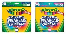 washable markers broad line colormax 10 piece