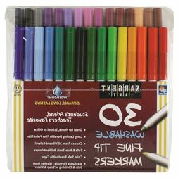 Sargent Art Washable Markers - Fine Tip - 30 count